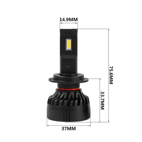 Светодиодная лампа LP F3S H7, комплект 2 шт