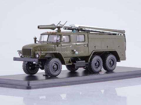 Ural-43202 AC-40 PM-102B khaki 1:43 Start Scale Models (SSM)