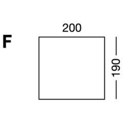 Elastic sheet / model F / beige
