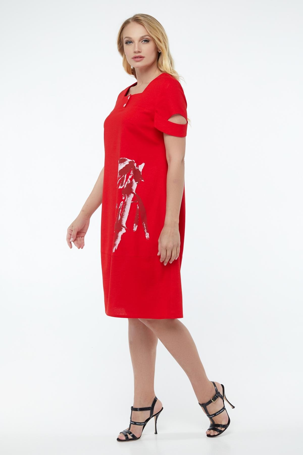 Платье Карина (красный)