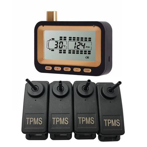 Система контроля давления в шинах TP534D c внутренними датчиками для грузовиков и прицепов (до 34 шин), интерфейс RS232