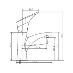 Смеситель KAISER Calla 71011 для раковины схема