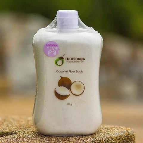 Сухой файбер-скраб для лица и тела TROPICANA Coconut Fiber Scrub