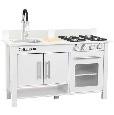 KidKraft Маленький повар мини белая - детская кухня 53407_KE