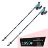 Скандинавские палки AQD B019 Carbon 70% T2 Blue телескопические