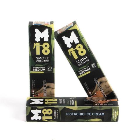 Табак M18 Medium Pistachio ice cream (Фисташковое мороженое) 20 г