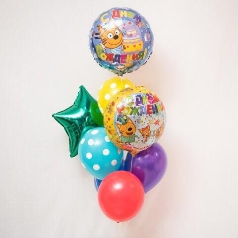 Шары Три Кота Фонтан воздушные шары Три кота lgoAENgPmEk.jpg