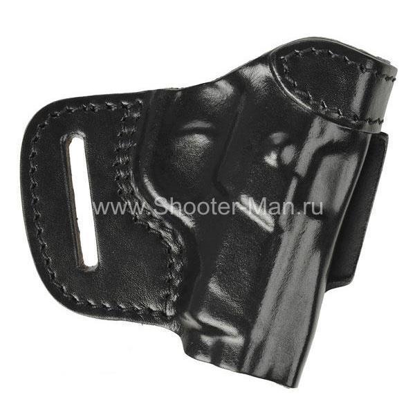 Кожаная кобура на пояс для пистолета Tanfoglio INNA ( модель № 5 ) Стич Профи