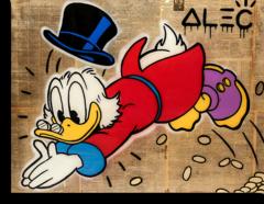 """Постер """"Monopoly Alec Скрудж Макдак"""""""