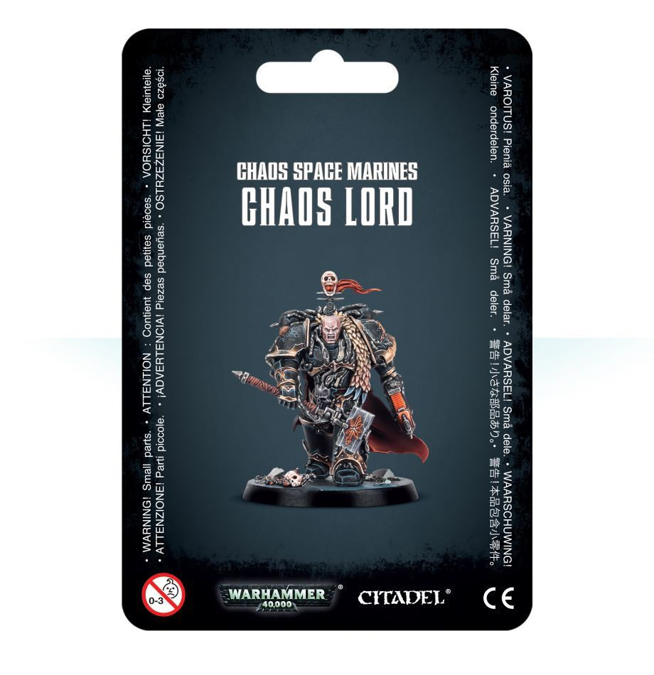 Chaos Space Marines Chaos Lord / Лорд Хаоса