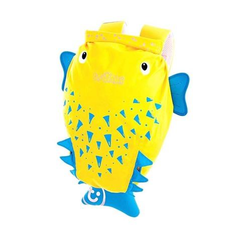 Рюкзак TRUNKI для бассейна и пляжа. Желтая рыба