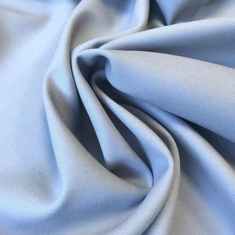 Ткань костюмно-плательная ткань цвет нежно-голубой 3218