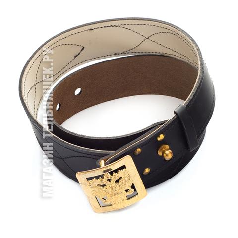 Купить кожаный офицерский ремень - Магазин тельняшек.ру 8-800-700-93-18
