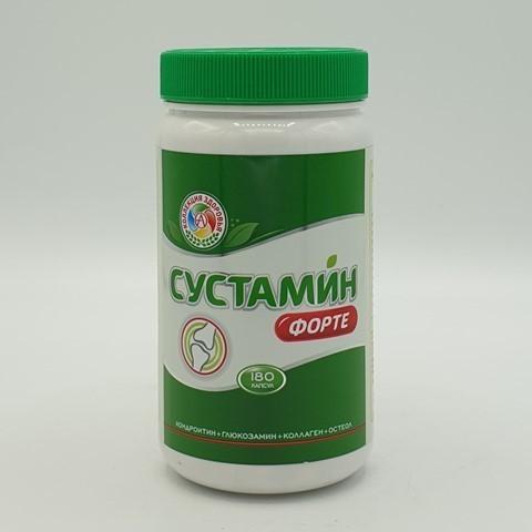 Препарат для суставов и связок SUSTAMIN FORTE, Академия-Т, 180 капс