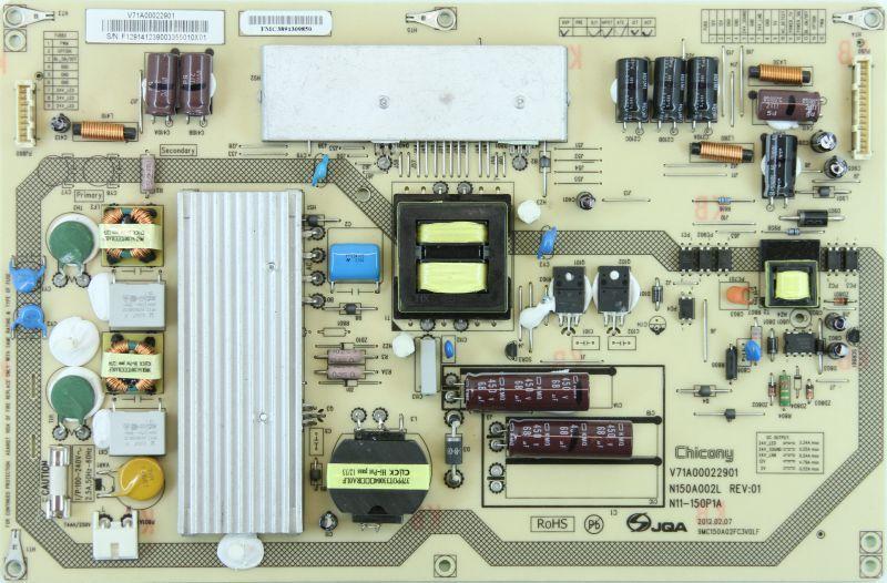 V71A00022901 N150A002L N11-150P1A блок питания телевизора Toshiba