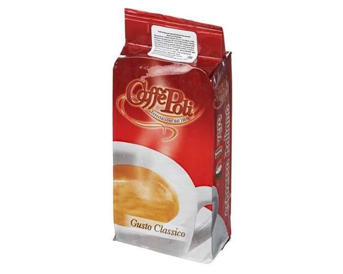 Кофе молотый Poli Gusto Classico, 250 г (Каффе Поли)