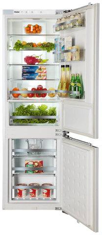 Встраиваемый двухкамерный холодильник Haier BCFT629TWRU