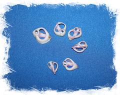 Морские ракушки с дырочками для украшений