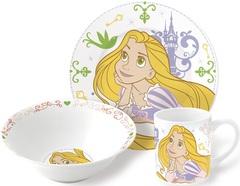 Принцесса Диснея Рапунцель Набор керамической посуды — Posuda
