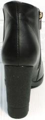 Женские ботильоны на высоком каблуке Jina 5992 Black