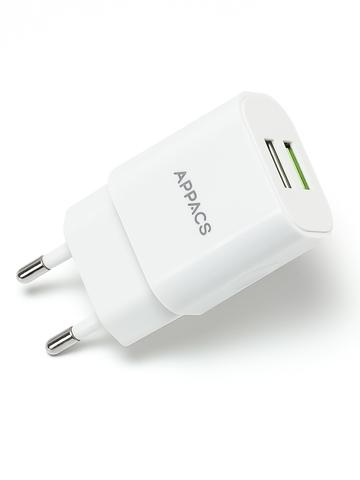 Зарядное устройство 220V APPACS (рус.) APEU02-2, 2USB. 2.4A