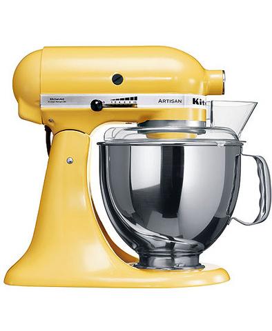 Миксер KitchenAid Artisan 5KSM150PSEMY, желтый
