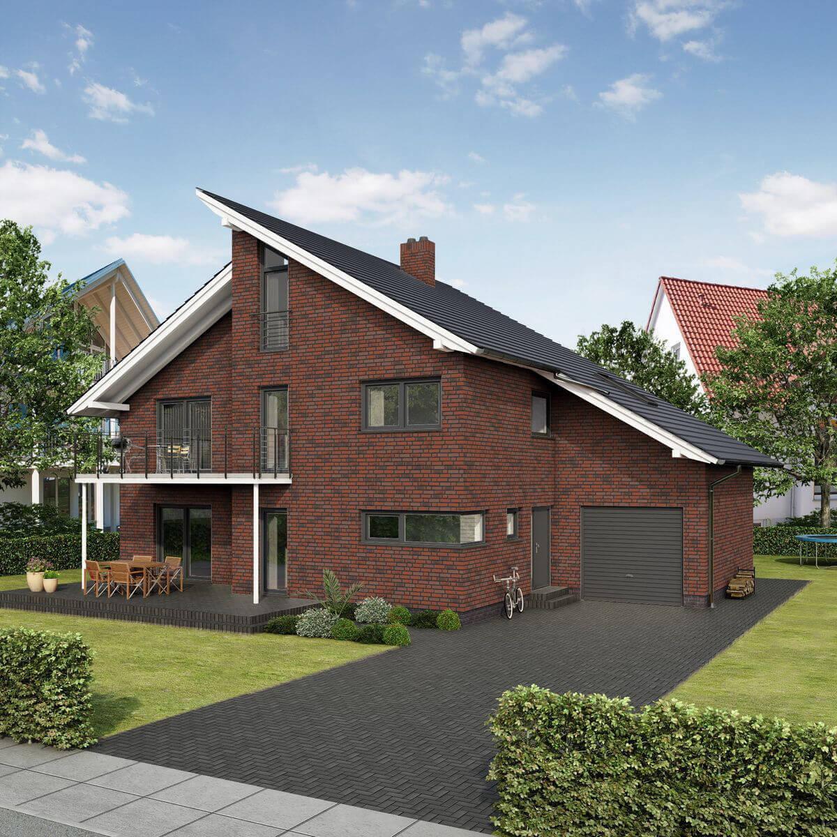 Feldhaus Klinker - R788NF9, Classic Planto Ardor Venito, 240x9x71 - Клинкерная плитка для фасада и внутренней отделки