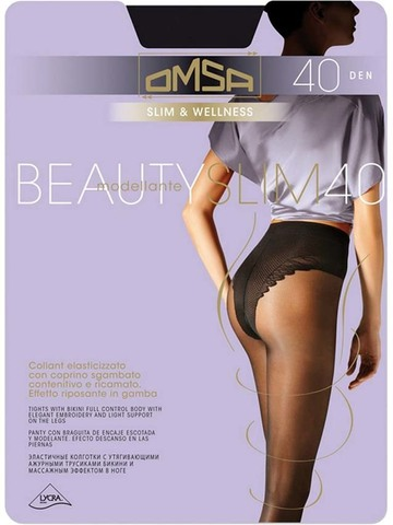 Колготки Beauty Slim 40 Omsa