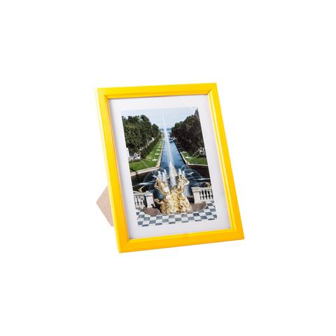 Фоторамка сосна  цветная 15х20 7N68 лимонная