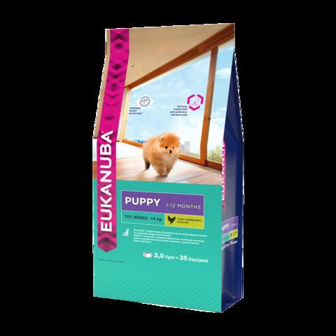 Eukanuba Puppy Toy Breed Сухой корм для щенков миниатюрных пород