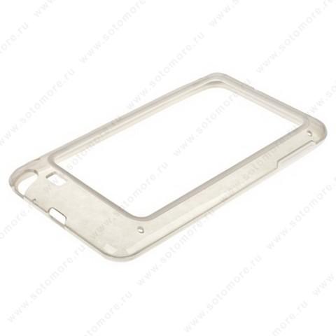 Бампер VSER для Samsung Galaxy Note N7000 белый