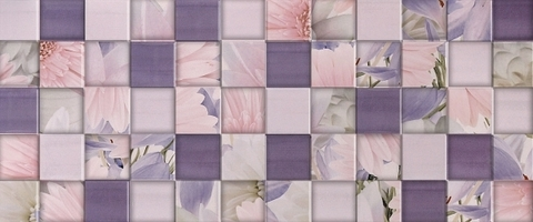 Плитка настенная Aquarelle lilac wall 03 250х600