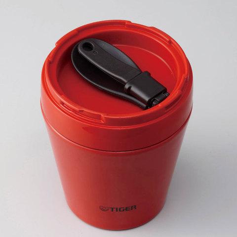 Термос для еды Tiger MCC-A (0,38 литра), белый