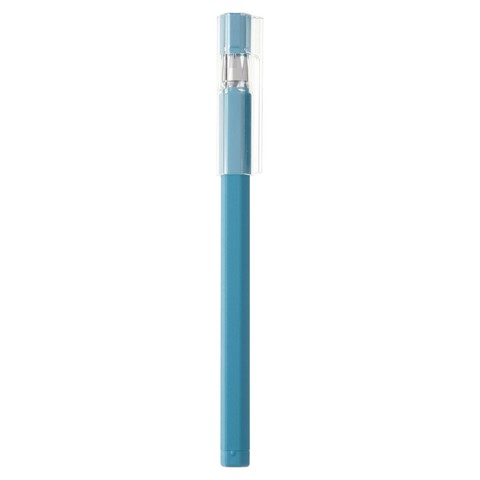 Гелевая ручка Muji Hexagon 0,25 мм (голубая)
