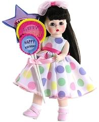 Madame Alexander Кукла с шариками брюнетка, 20 см (64491)