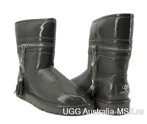 UGG & Jimmy Choo Zipper Grey
