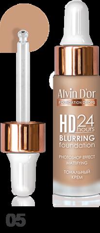 Alvin D`or BC-07 Тональный крем  Hd 24hours Blurring drops 15мл  (тон 05)