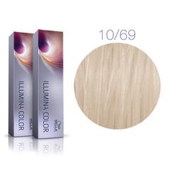Wella Professional Illumina Color 10/69 (Яркий блонд фиолетовый сандрэ) - Стойкая крем-краска для волос