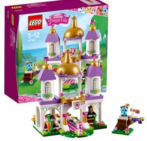 Конструктор 41142-L Королевские питомцы: замок