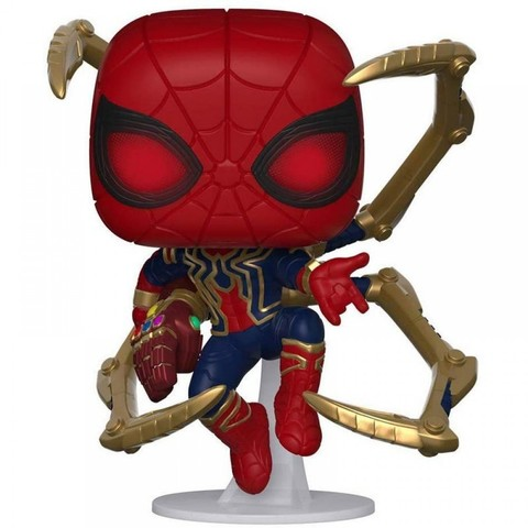 Фигурка Funko POP! Bobble: Marvel: Avengers Endgame: Iron Spider w/NanoGauntlet