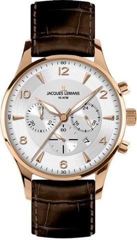 Купить Наручные часы Jacques Lemans 1-1654H по доступной цене