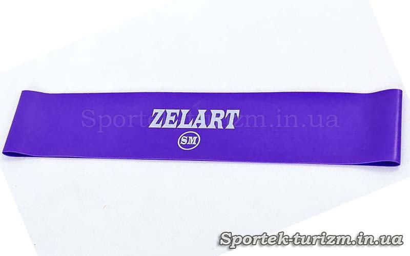 Гумка для фітнесу ZELART BANDS фіолетова (жорсткість SM, 500x50x0.5 мм)