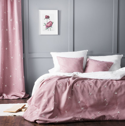 Покрывало Стейн розовый