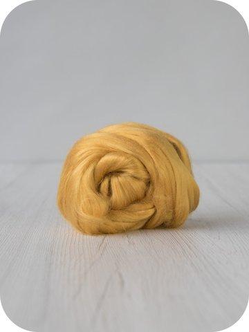 Волокна вискозы медовый