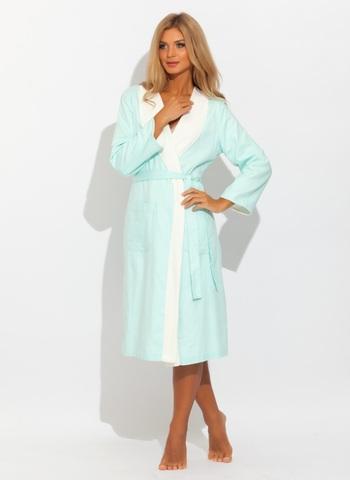 COSSETTE КОССЕТТЕ  женский сатин махровый халат  Maison Dor Турция