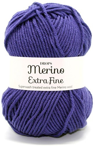 Пряжа Drops Merino Extra Fine 21 фиолетовый