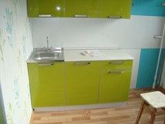 Кухня Симпл 2,1 цвет Олива