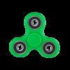 Спиннер (fidget spinner) - пластиковый с подшипниками