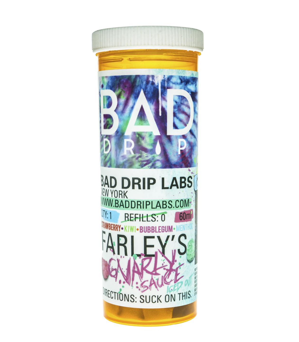 Bad Drip: Жидкость Farley's Gnarly Sauce Iced Out фото #1