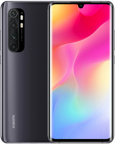 Смартфон Xiaomi Mi Note 10 Lite 6/128GB Black (черный) Global Version